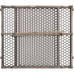 Vintage Grey Wood Doorway Security Gate