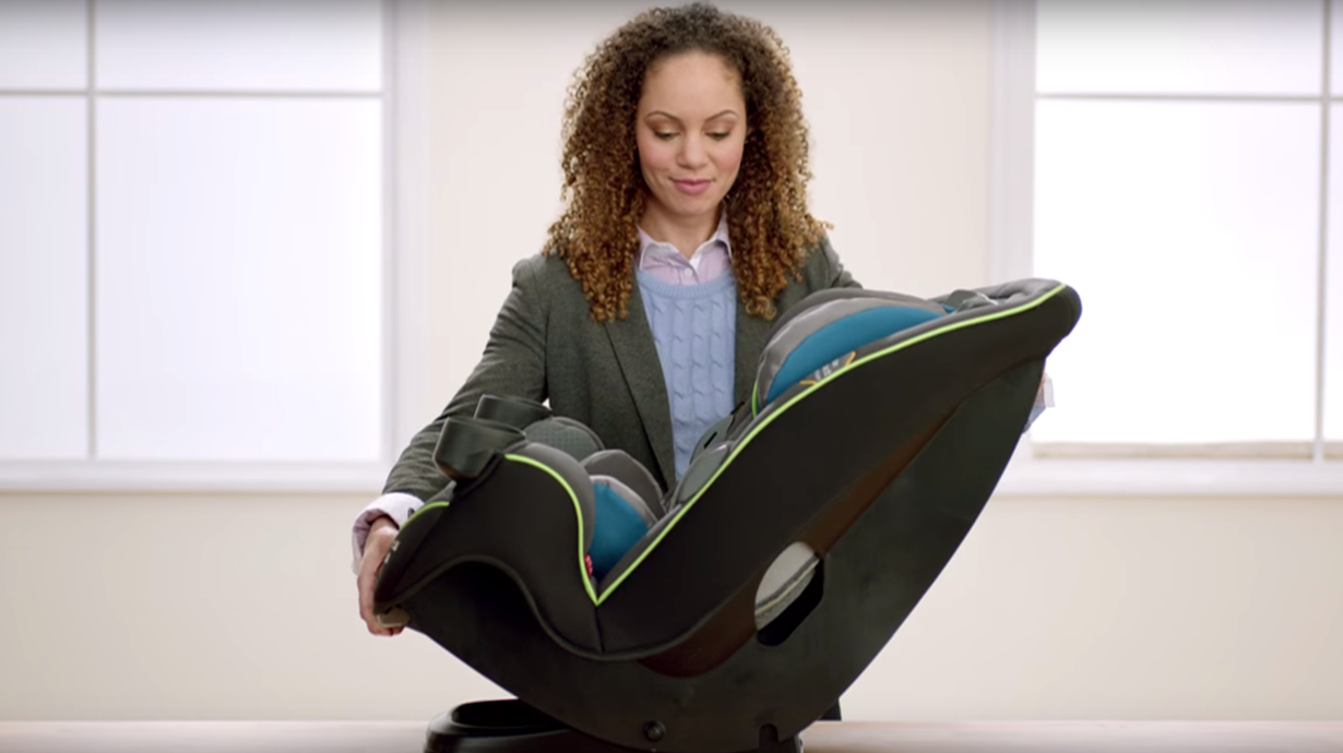 Car seat built to grow video