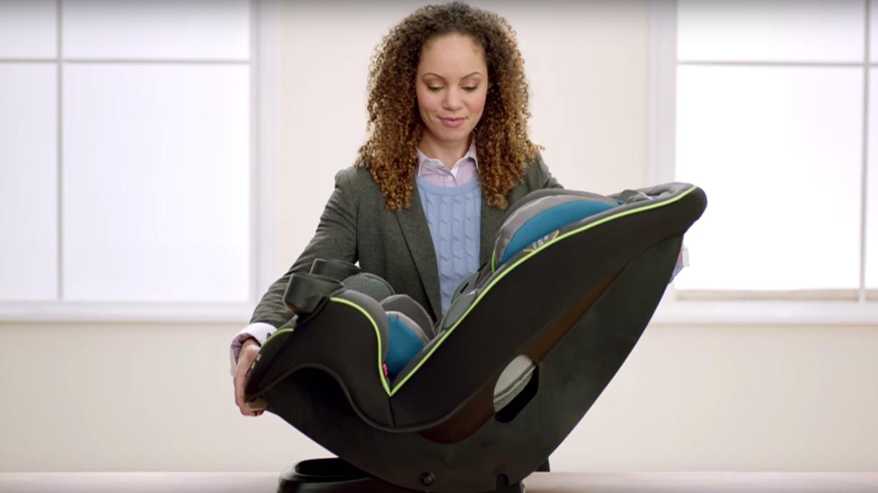 Car seat built to grow video